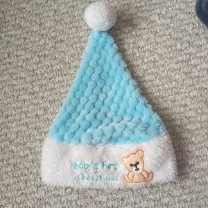 Babys First Christmas Hat